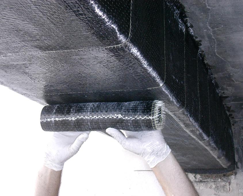 Miglioramento sismico in fibra di carbonio