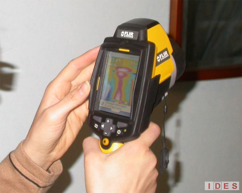 Indagini termografiche all'infrarosso