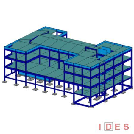 Modello numerico di struttura in c.a.