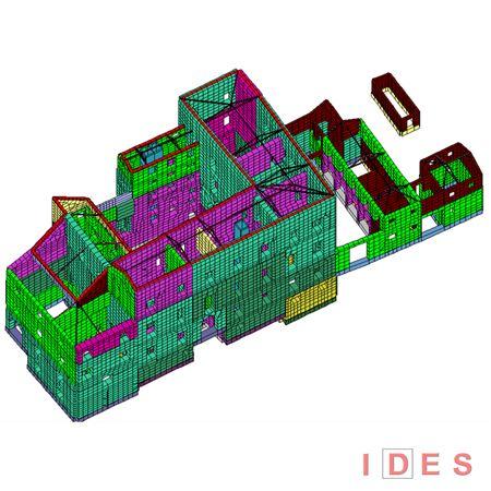 Modellazione numerica di edificio in muratura