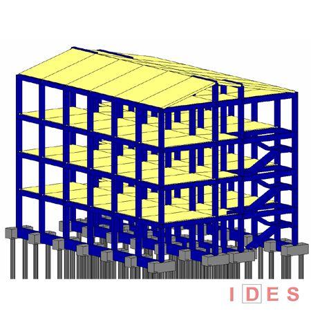 Modellazione numerica di edificio in cemento armato