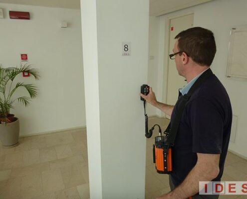 Palazzo della Direzione Regionale Marche Demanio - Ancona - Analisi magnetometrica
