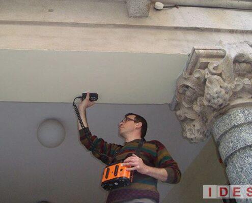 """Palazzo """"Monforte"""" - Direzione Regionale Lombardia Demanio - Milano - Analisi magnetometriche con pachometro"""