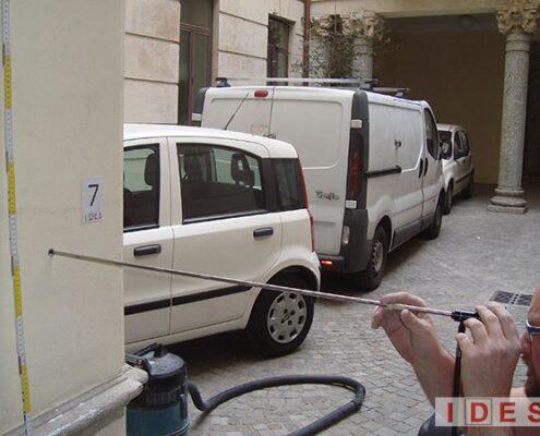 """Palazzo """"Monforte"""" - Direzione Regionale Lombardia Demanio - Milano - Indagine endoscopica"""