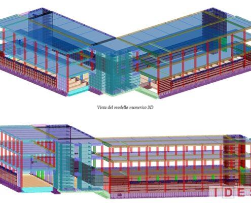 Palazzo Municipale - Segrate (MI) - Modello 3D