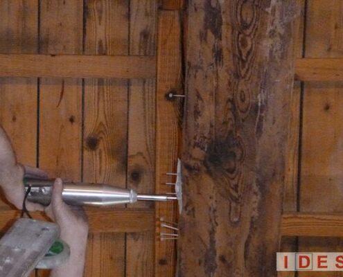 """Villa """"Tivan"""" - Direzione Regionale Veneto Demanio - Venezia - Prove penetrometriche su legno"""